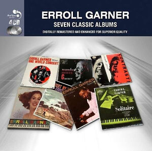 Erroll Garner SEVEN CLASSIC ALBUMS Remastered 62 SONG Collection NEW SEALED 4 CD