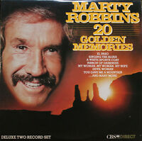 Marty Robbins - 20 Golden Memories Vinyl Record LP