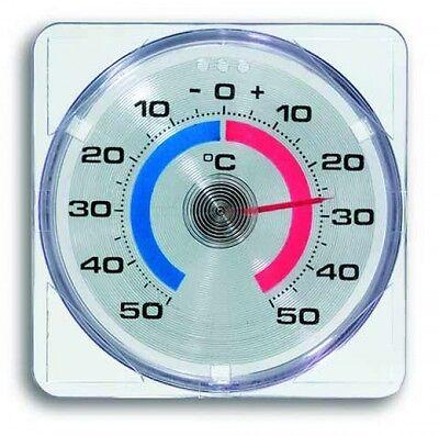 Fensterthermometer selbstklebend Außenthermometer Zimmerthermometer analog