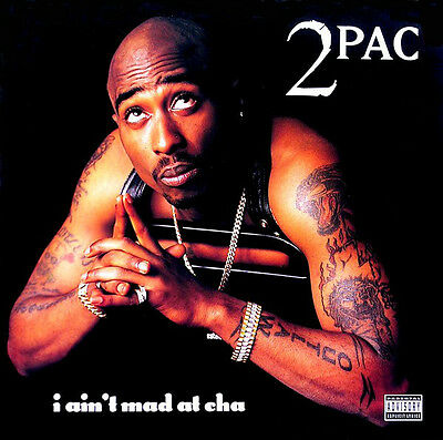"2Pac - I Ain't Mad At Cha (Tupac) Original Death Row 1996 12"" Vinyl"