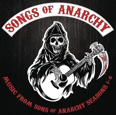 Songs Of Anarchy  Music From Sons Of Anarchy Seasons 1 4   Cd   Soundtrack  New