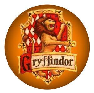 Gryffondor Harry Potter badges sac a main miroir Frigo Aimant ouvre