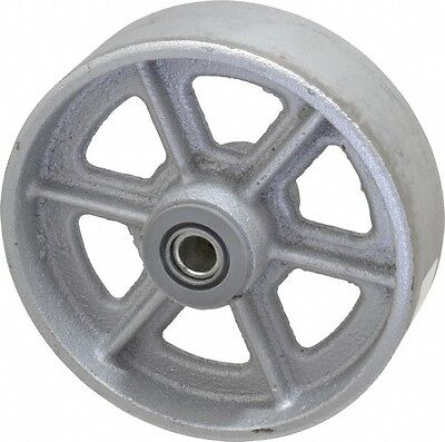 Albion 6 Inch Diameter X 2 Inch Wide Cast Iron Caster Wheel 1400 Lb. Capaci...