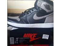 Jordan 1 Retro High OG Shadows Size 9.5 - Brand New Never Worn (selling out everywhere)