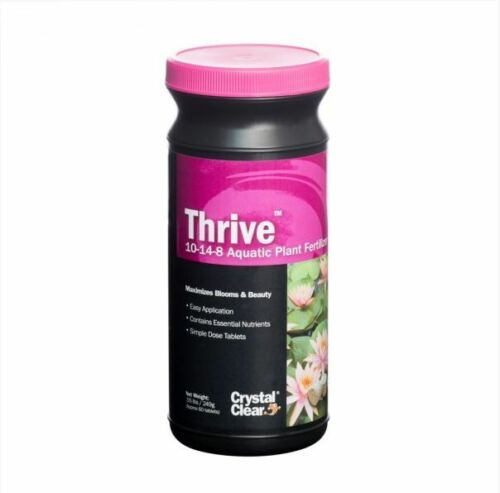 Thrive 10-14-8 Universal Aquatic Plant Fertilizer 60 tablets for Water Gardens