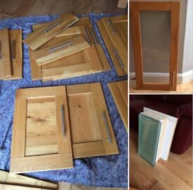 Howden Solid Oak Kitchen unit doors & accessories