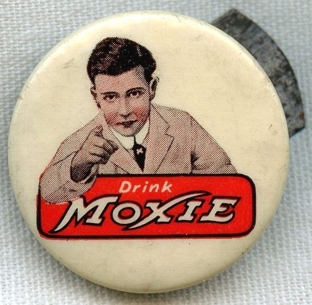 Wonderful Vintage 1900s Moxie Celluloid Clicker by Whitehead & Hoag
