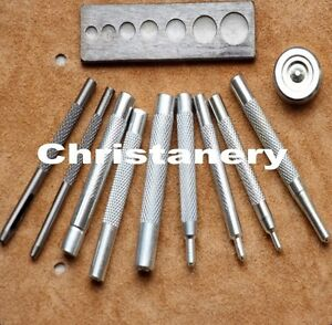 Craftool-Die-Punch-Snap-All-Rivet-Setter-Kit-For-leathercraft-DIY