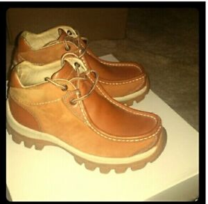 Men's Perry Ellis America Tan Hiking Boots Size 9 - Worn Once