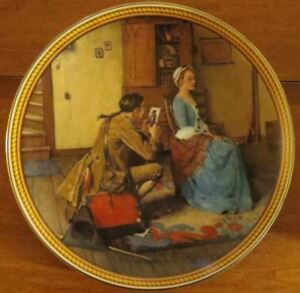 Norman Rockwell Plate: Portrait For a Bridegroom