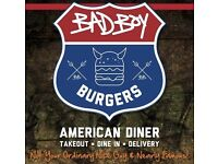Bad Boy Burgers recruiting for trainee chefs! IMMEDIATE START!