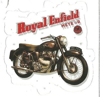 ROYAL ENFIELD  METEOR MOTORCYCLE Sticker Decal
