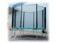 REPLACEMENT NETTING SURROUND FOR A 14FT TRAMPOLINE SAFETY-NET