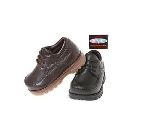 baby toddler boys brown black dress shoes 5 6 7 8 9 10