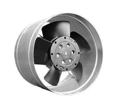 Klein metall Kanallüfter Kaminturbine Gebläse Whisper DN 125 - 100 m3/h