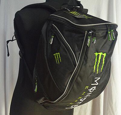 Rucksack Bag Aiptasia Monster Style 20-35L Motorcycle Motocross Bike Backpack UK