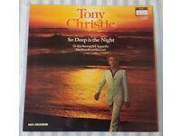 "Tony Christie 'So Deep Is The Night' 12"" VINYL LP 33⅓ RPM, £5 ONO"