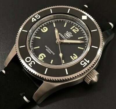 STEELDIVE SD1952 Automatic Fifty Fathoms Vintage Diver Watch NH35 *UK SUPPLIER*