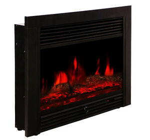 Real Looking Electric Fireplace Insert