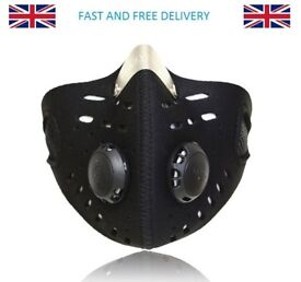 BRAND NEW Motorcycle Cycling anti-pollution mask dust vehicle fumes and bacteria filter