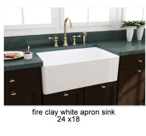 20% DISCOUNT ON FIRE CLAY APRON SINK
