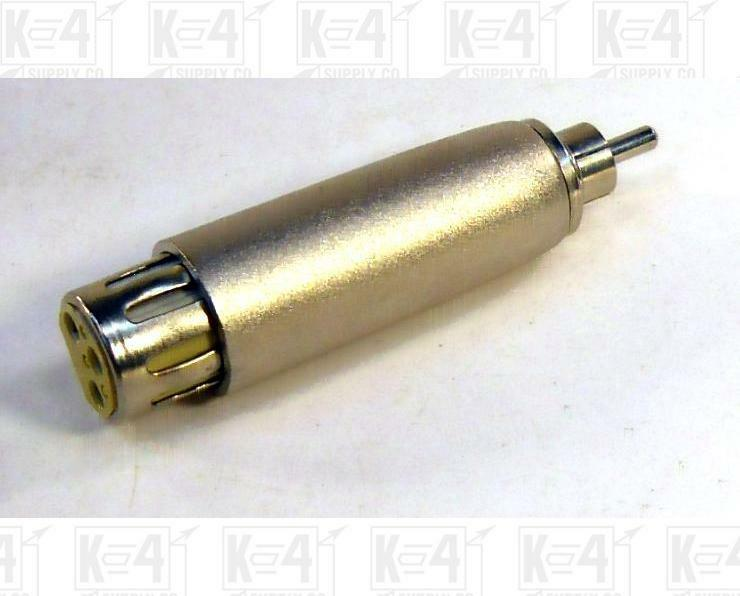 XLR Female To RCA Male Adaptor Connector