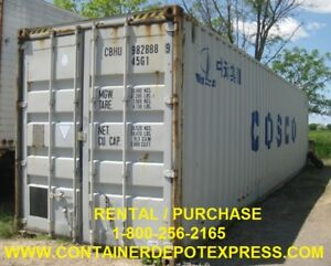 New or Used Steel Storage Containers / Sea Containers
