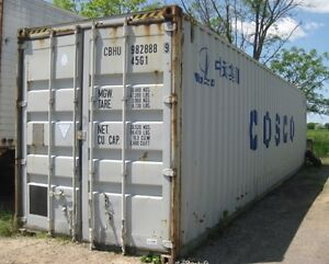 20Ft & 40ft STEEL STORAGE CONTAINERS FOR SALE