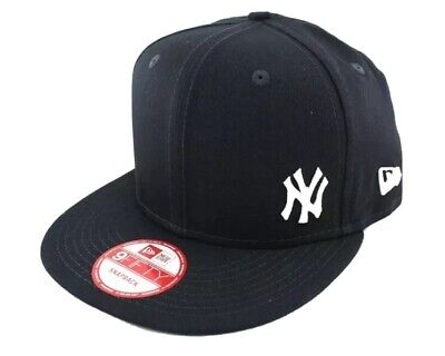Brand New New Era New York Yankees 9FIfty Snapback Cap Navy With White Logo M/L