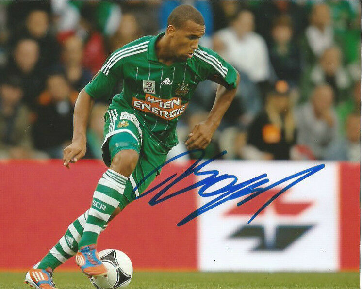 Rapid Wien Terrence Boyd Autographed Signed 8x10 Photo COA C