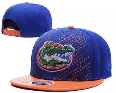 Florida Gators Hat NCAA Cap Flat Bill Snapback Hat