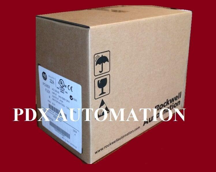 2020/2021 Sealed 1 Year Warranty 22AD4P0N104 POWERFLEX 4 Catalog 22A-D4P0N104