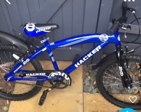 Child's bike ride once great condition 20inch wheels