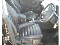 Vw Passat cc leather interior seats door cards GT sport seats 2008 2015 3 seater seat