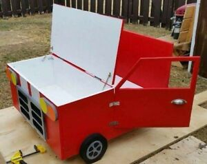 Handcrafted Wooden Car Toy Box Moose Jaw Regina Area image 2
