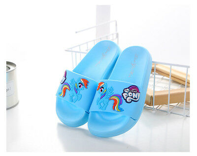 Rainbow Dash My Little Pony Slippers for Bath Non-slip Girls' Love for Age - Rainbow Dash Shoes
