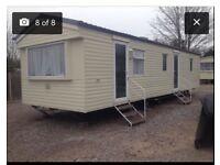 3 bed static caravan for rent