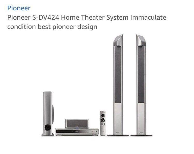 Pioneer Surround sound system.