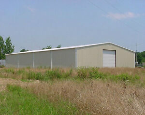 50X100X16 PRE ENG STEEL BUILDING - GREAT SHOP/MFG