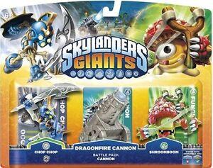 Skylanders Giants - Triple Character Battle Pack - Chop Chop Cannon Shroomboom
