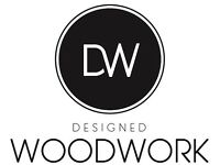 Designed Woodwork make bespoke kitchens, furniture and joinery. We design, build and install.