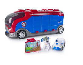 Paw Patrol Mission Cruiser Whit Accessories Christmas Present Gift New