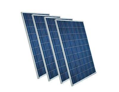 4 x 270 Watt Solarpanel Polykristallin, Photovoltaik, Solarmodul