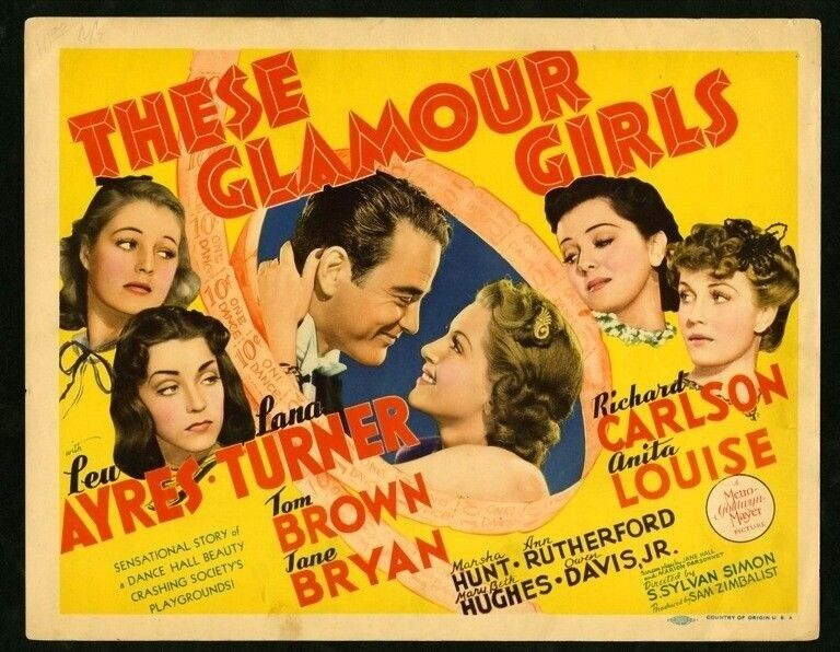 THESE GLAMOUR GIRLS (1939) 2542