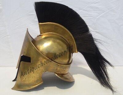 300 König Leonidas Spartan Helm Krieger Kostüm mittelalterlichen Helm Liner SCA - Spartan Krieger Kostüm