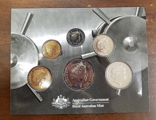2010 SIX COIN UNCIRCULATED SET - ROYAL AUSTRALIAN MINT