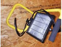 230v 500W SIP Halogen work light / flood light comes with 2 x spare bulbs. DIY