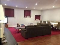 Exceptionally spacious 2 bedroom flat available to rent in converted church building.