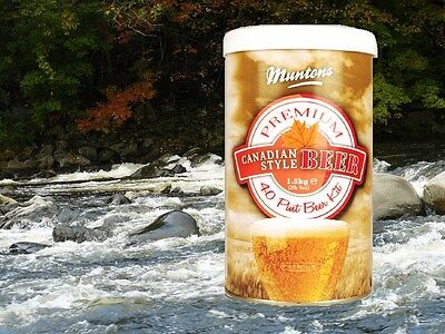 HOW ABOUT A TALL CANADIAN BLONDE?   MUNTONS 5 GALLON BEER BREWING INGREDIENT - 5 Gallon Ingredient Kit