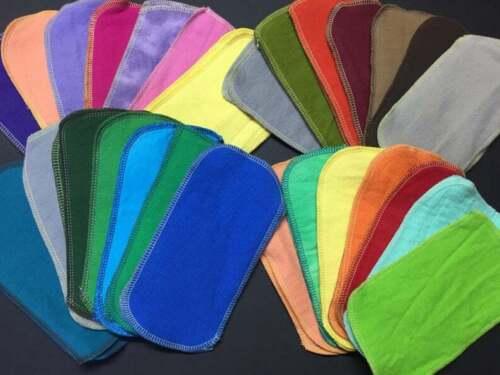MamaBear Reusable Cloth Wipes (Unpaper) Set - Baker